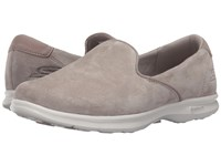 Skechers Go Step Cheery Taupe Women's Slip On Shoes