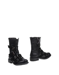 Alessandro Dell'acqua Footwear Ankle Boots Women Black