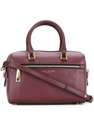 Marc Jacobs Small 'West End' Bauletto Tote Red