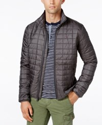 Tommy Hilfiger Platinum Insulator Quilted Jacket Dark Shadow