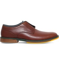 Camper Deia Leather Shoes Mid Brown