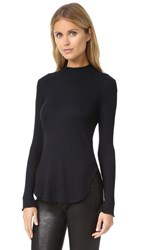 Lna Devon Thermal Shirt Black