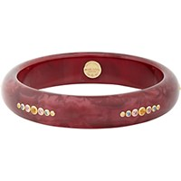 Mark Davis Women's Spessartite Garnet Multi Sapphire And Vintage Bakelite Bangle No Color