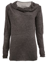 Lost And Found Ria Dunn Long Fit Jumper Grey
