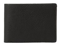 Bosca Washed Collection Small Billfold Black Wallet Handbags