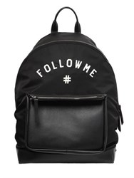 Ports 1961 Follow Me Nylon And Leather Backpack