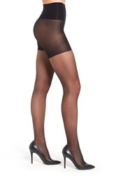 Berkshire Plus Size Women's 'Tummy Toner' Back Seam Tights Fantasy Black