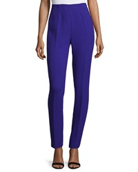 Cnc Costume National High Waist Skinny Trousers Purple Women's