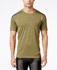Reebok Men's Activchill Performance T Shirt Dark Green