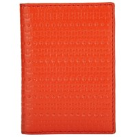 John Lewis Kin By Liv Leather Card Holder Orange