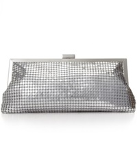 Style And Co. Darcy Small Frame Clutch Silver
