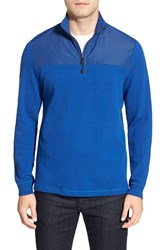 Men's Bugatchi Long Sleeve Quarter Zip Knit Sweatshirt