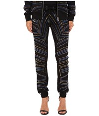 Philipp Plein Embellished Jogging Sweatpants Black