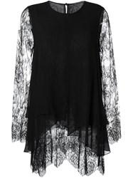 Ermanno Scervino Lace Blouse Black
