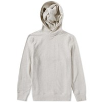 Helmut Lang Texture Pullover Hoody Grey