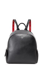 Mcm Polke Studs Backpack Black