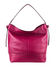 Cole Haan Brynn Leather Hobo Cabernet