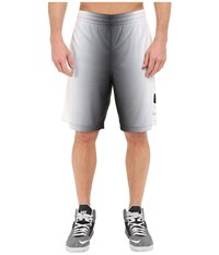Nike Elite Stripe Plus Basketball Short Black White Wolf Grey Metallic Silver Men's Shorts