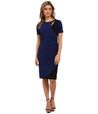 Catherine Malandrino Kathy Dress Indigo Noir Women's Dress Blue