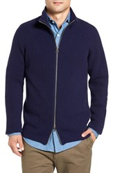 Gant Men's Wool Blend Zip Sweater