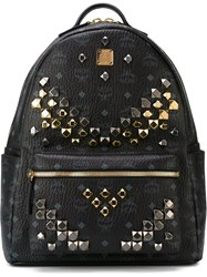 Mcm Studded 'Stark' Backpack Black