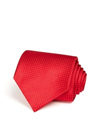 The Men's Store At Bloomingdale's Basket Solid Classic Tie Red