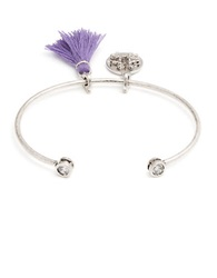 Lonna And Lilly Bird Charm Bangle Bracelet Purple
