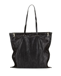 Valentino Oversized Lace Tote Bag Black