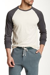 J.Crew Factory Baseball Tee Multi