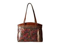 Patricia Nash Poppy Tote Metallic Paisley Tote Handbags Brown