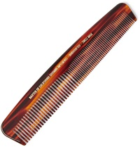 Baxter Of California Large Tortoiseshell Acetate Comb Brown
