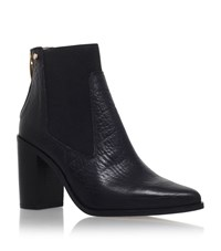 Kurt Geiger London Dellow Stretch Panel Boots Female Black