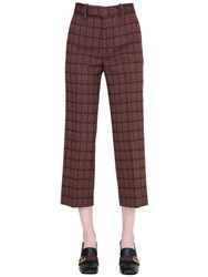 Gucci Imperial Wool Jacquard Pants