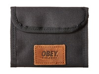 Obey Everett Wallet Black Wallet Handbags
