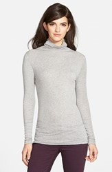 Chelsea 28 Women's Chelsea28 Layering Turtleneck Grey Heather