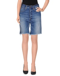 People Denim Bermudas