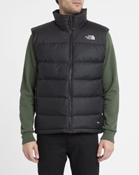 The North Face Black Nuptse 2 Duvet 700 Two Tone Insulated Sleeveless Waterproof Down Jacket