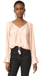 Ramy Brook Lanie Blouse Blush