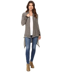 Culture Phit Stella Cardigan Charcoal Women's Sweater Gray