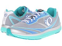 Pearl Izumi Em Road N2 V3 Silver Aqua Mint Women's Running Shoes Gray
