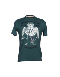 Waimea Short Sleeve T Shirts Green