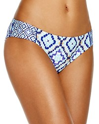Laundry By Shelli Segal Marrakesh Palace Side Tab Bikini Bottom Midnight