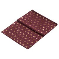 Joules Orna Stag Print Scarf Bordeaux Gold