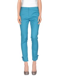 Red Valentino Redvalentino Trousers Casual Trousers Women Turquoise