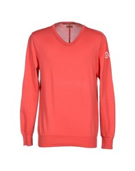 Rare Ra Re Knitwear Jumpers Men Coral