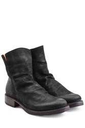 Fiorentini Baker And Distressed Sueded Ankle Boots Black