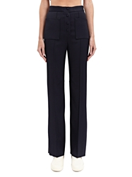 New Season Calvin Klein Collection Womens Bachor Bis Pleated Pants