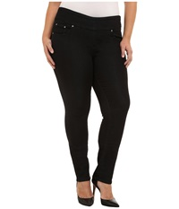 Jag Jeans Plus Size Nora Pull On Narrow Jeans In Black Rinse Black Rinse Women's Jeans