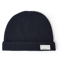 Visvim Wool Beanie Hat Blue
