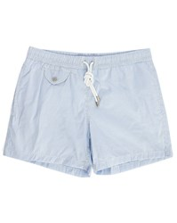 Hartford Blue Seersucker Swim Shorts
